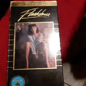 VCR Tape Flashdance movie.